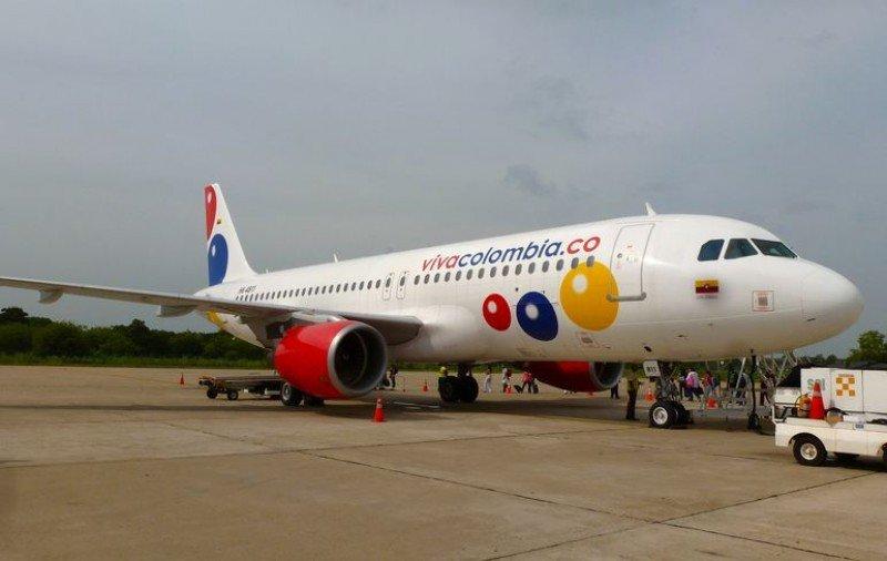 VivaColombia planea cuatro vuelos semanales entre Bogotá y Quito.