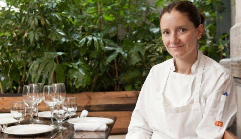 Elena Reygadas abrió su restaurante Rosetta en 2011.