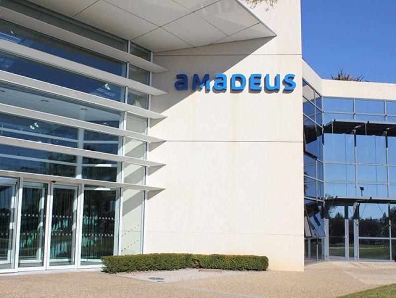 Amadeus ganó 380 M € en el primer semestre, un 8,9% más