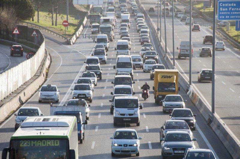 Carreteras de acceso y salida de Madrid. #shu#
