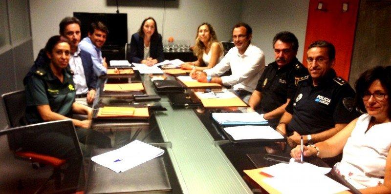 Reunión del grupo de trabajo que prepara el código de buenas prácticas.