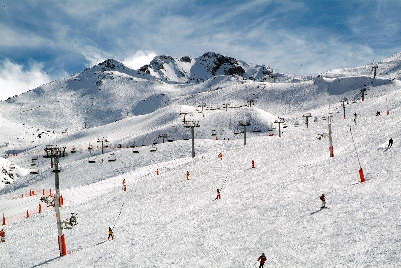 Pistas de esqui de Boí-Taüll, en el Pirineo.