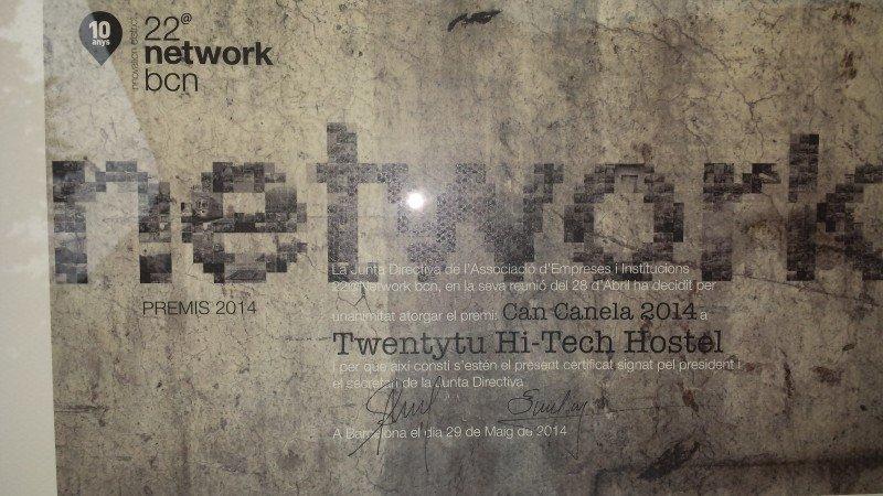 22@Network premia al hostel Twentytú por su innovación