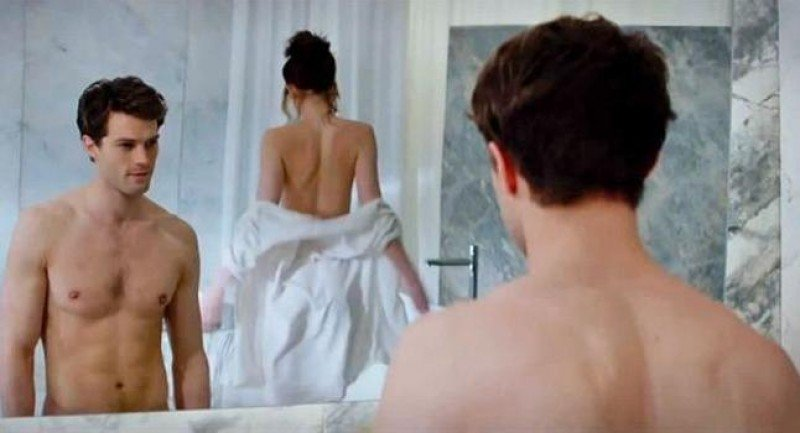 Escena de la película '50 sombras de Grey', actualmente en rodaje y que se estrenará en San Valentín. Foto: Universal.