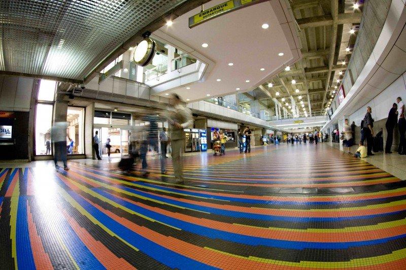 aeropuerto Internacional de Maiquetía 'Simón Bolívar' en Caracas, Venezuela.