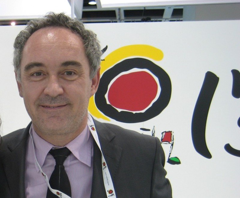 El chef Ferran Adriá ha colaborado en varias campañas de promoción turística de Turespaña.