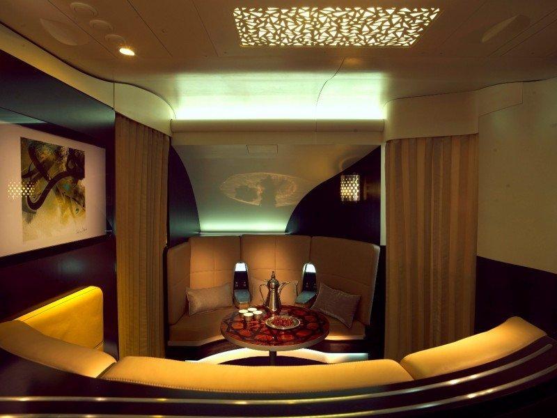 La cabina-apartamento desarrollada por Etihad.