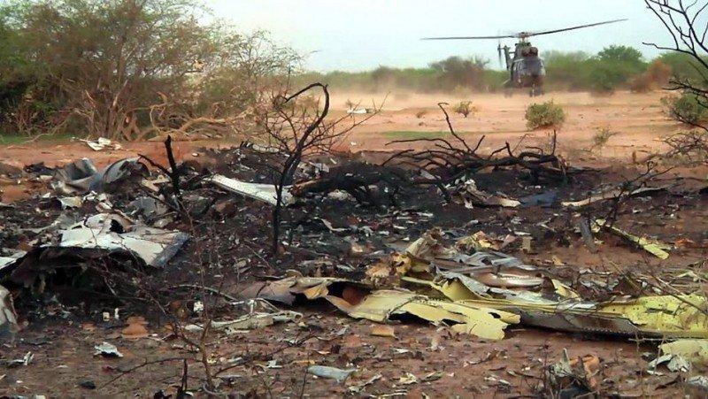 Una de las cajas negras del avión de Swiftair no funcionaba
