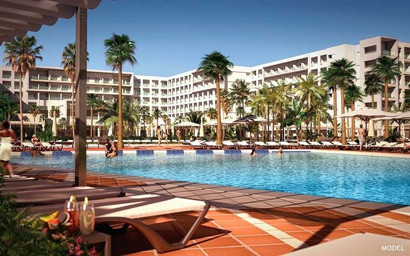 La mitad de las nuevas 969 habitaciones autorizadas corresponden al hotel Riu Playa Blanca.