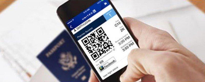 United Airlines lanza aplicación móvil para escanear pasaportes
