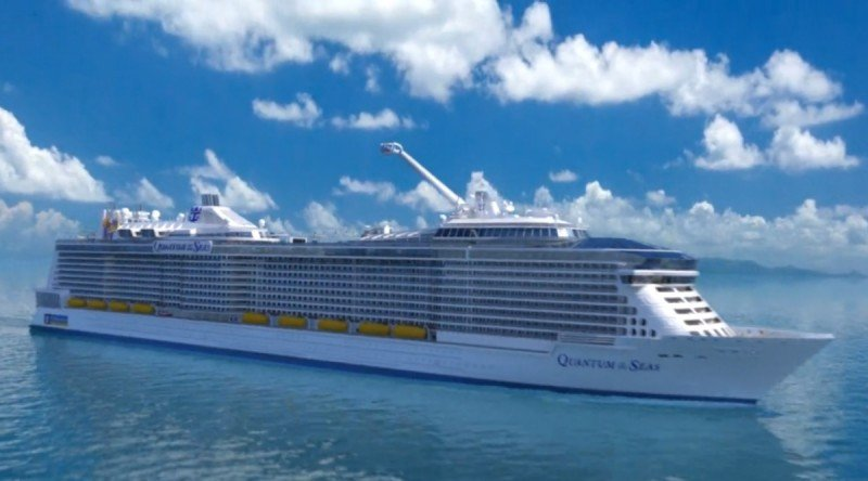 El Quantum of the Seas tendrá su base en China.