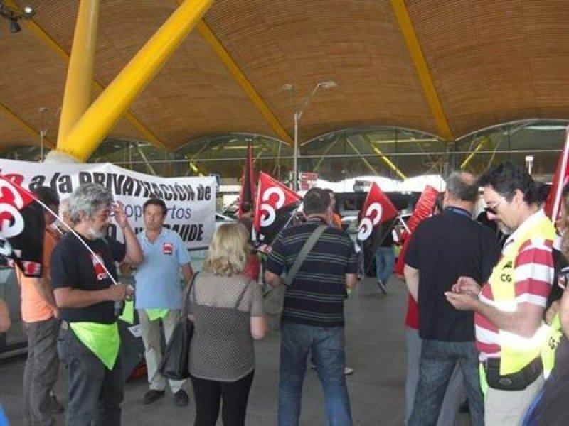CGT-Aena desconvoca la huelga prevista en Barajas para este fin de semana