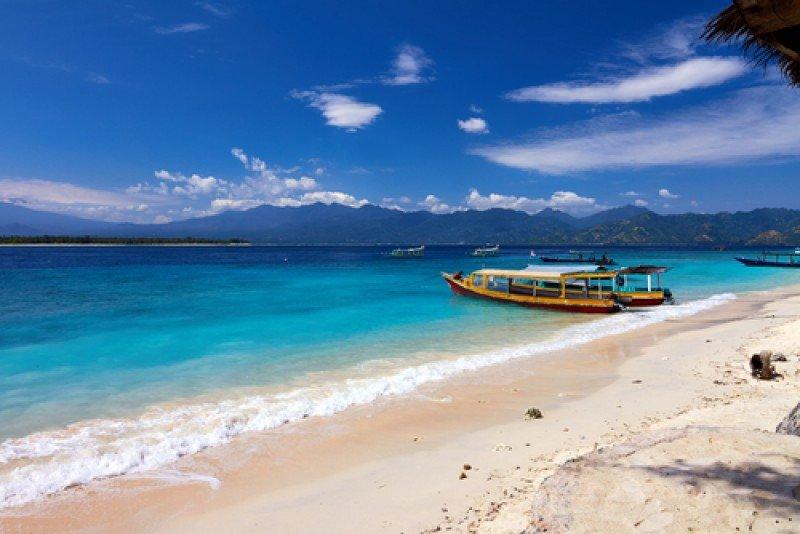 Playa de Lombok, Indonesia. #shu#