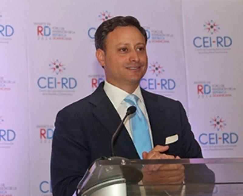 Jean Alain Rodríguez, director ejecutivo del CEI-RD.