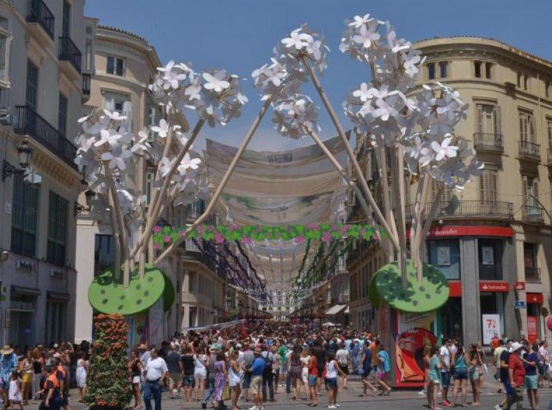 Para el próximo fin de semana se prevé que la ocupación alcance el 95%. Foto: Europa Press/Ayuntamiento de Málaga.