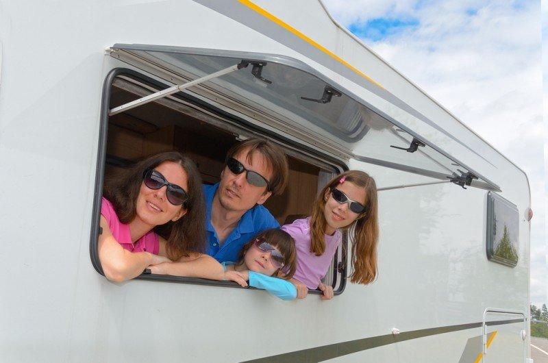 La autocaravana es una de las opciones vacacionales que se adapta a las necesidades del turismo familiar. #shu#