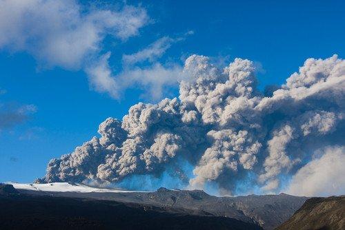 Las autoridades islandesas reducen el nivel de alerta. #shu#