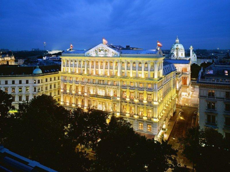 Starwood realizará una inversión millonaria en la reforma del Hotel Imperial de Viena.