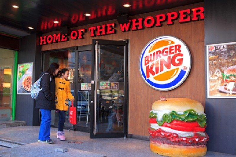 Un establecimiento de comida rápida de la cadena Burger King. #shu#