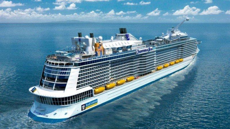 El nuevo barco fue presentado a la prensa en los astilleros en Alemania.