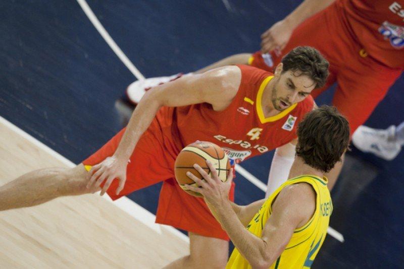 Pau Gasol, jugador de la selección española de baloncesto. #shu#