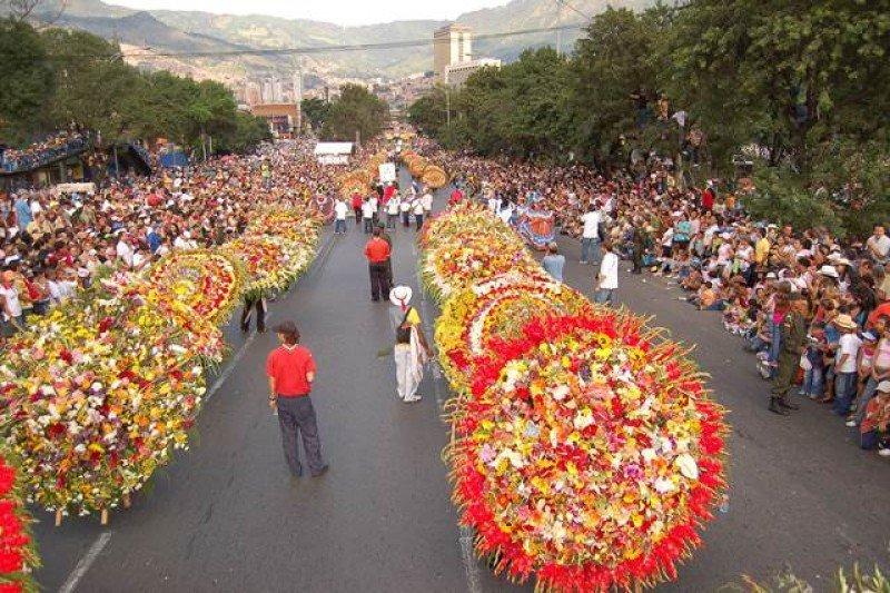 La ciudad colombiana celebra su mayor fiesta anual.