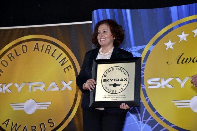 Avianca recibe dos primeros premios en encuesta Skytrax