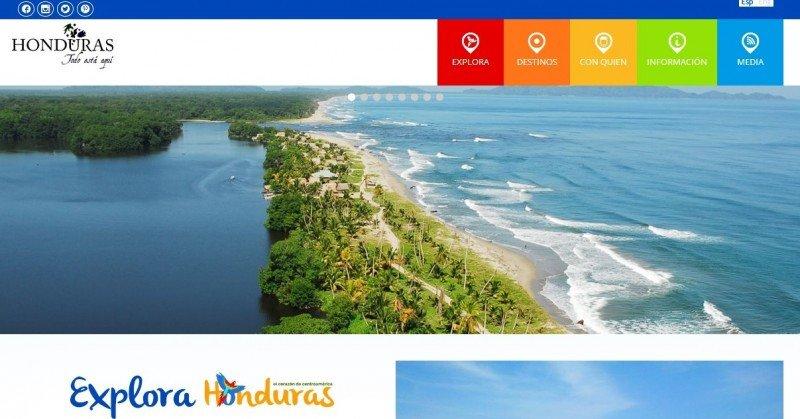 Nueva web turística oficial de Honduras.