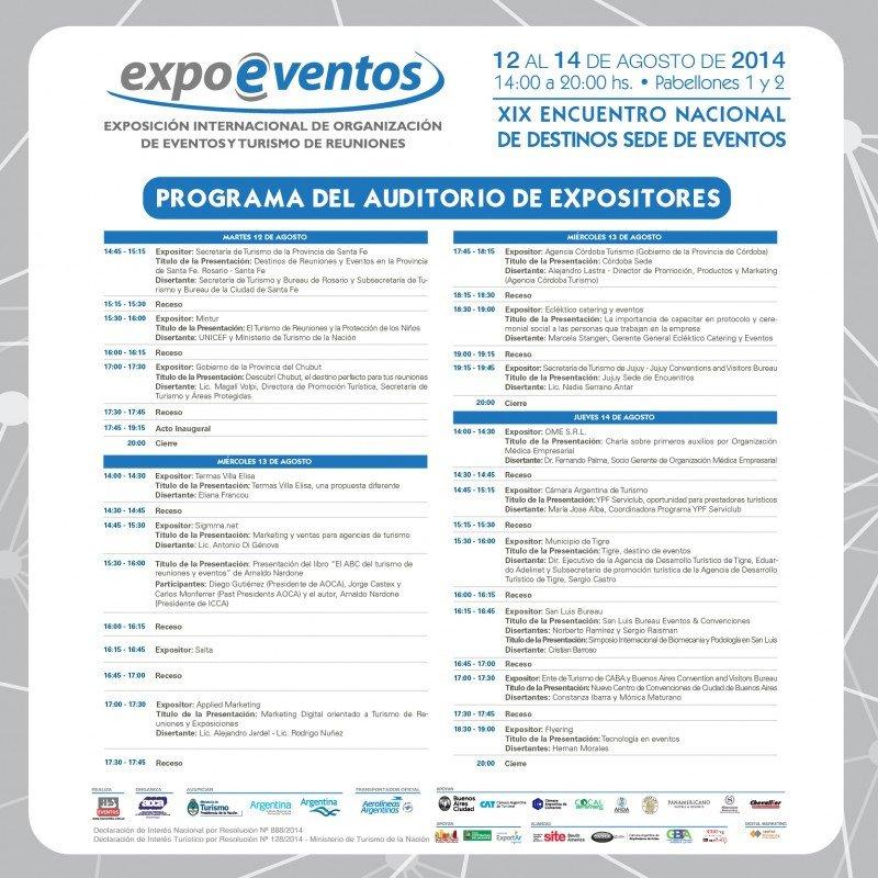 Buenos Aires lista para una nueva edición de ExpoEventos