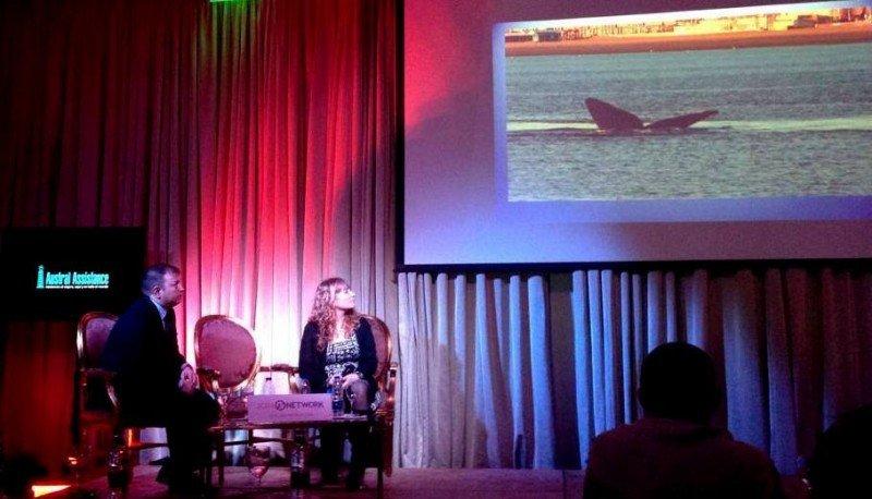 Gloria García Forlán (Secretaría de Turismo) y Matías García (Flamenco Tour) en Gnetwork360.