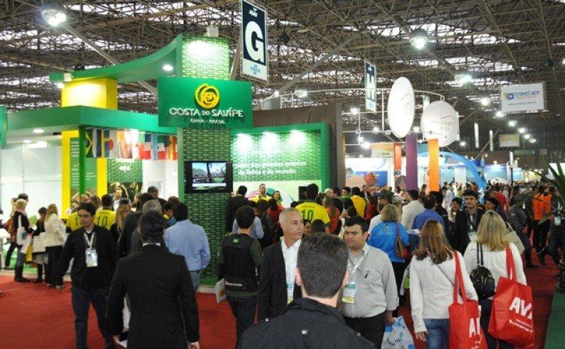 La feria reúne a miles de agentes de viajes de todo Brasil y la región. Foto: ABAV