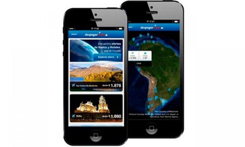 Aplicación móvil de Despegar permite comprar paquetes turísticos