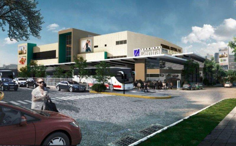 Proyecto de la nueva terminal de buses de San José de Costa Rica.