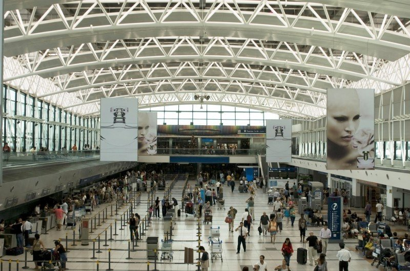 Aeropuerto Internacional de Ezeiza. #shu#