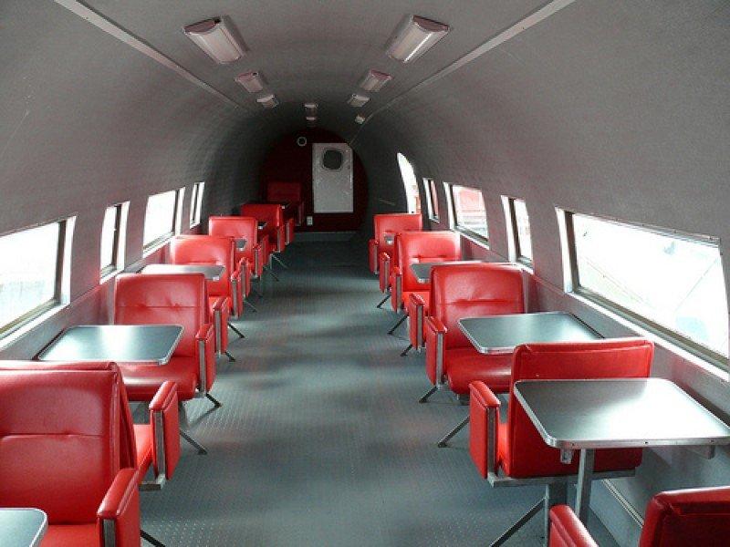 Interior del avión.