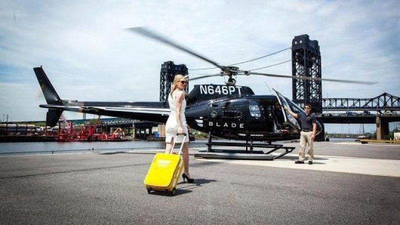 El servicio opera desde un helipuerto céntrico en Manhattan.