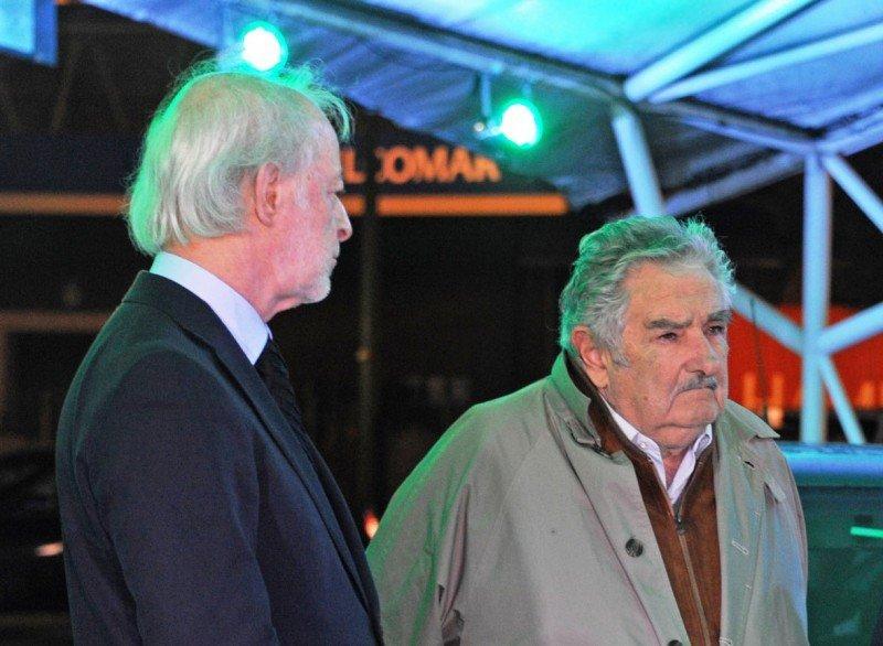 Juan Carlos López Mena y José Mujica.