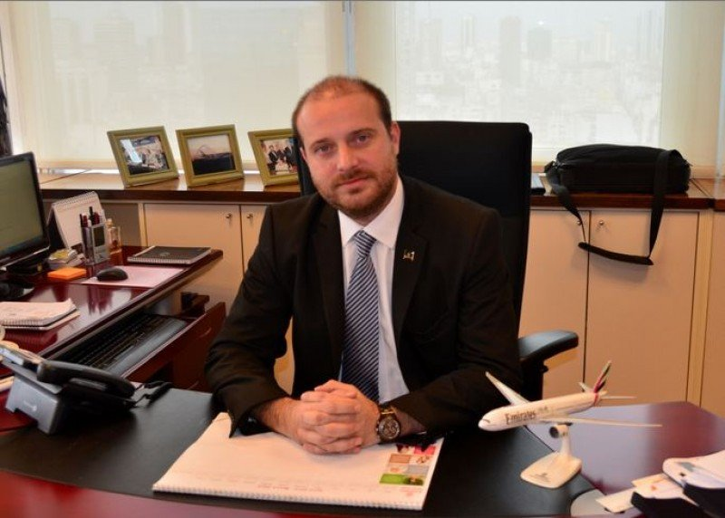 Fernando Joselevich, gerente general de Emirates para Argentina.