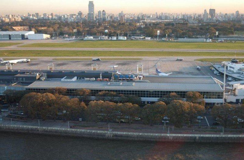 Aeroparque Jorge Newbery, Buenos Aires.