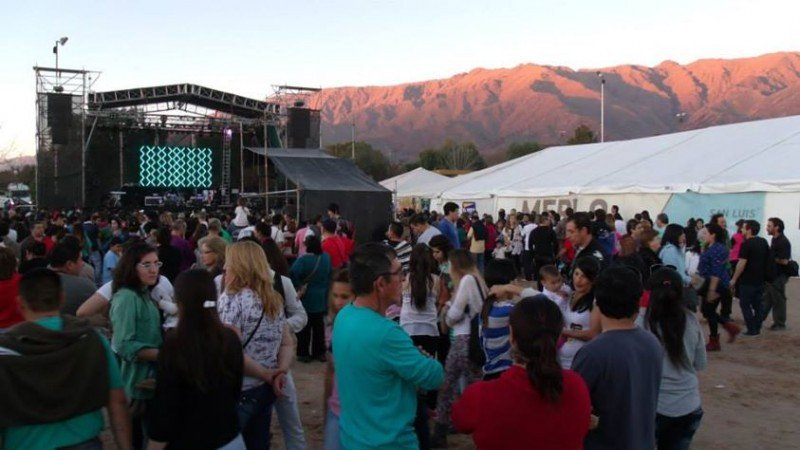 Fiesta de la Dulzura reunió a 45.000 personas el fin de semana. (Foto: InfoMerlo).