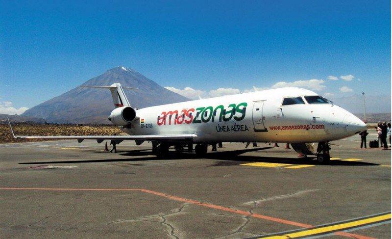 Amaszonas recibe autorización para operar la ruta Salta-Tarija.
