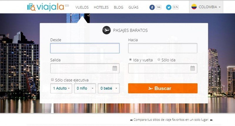 Metabuscador colombiano ingresa al mercado mexicano