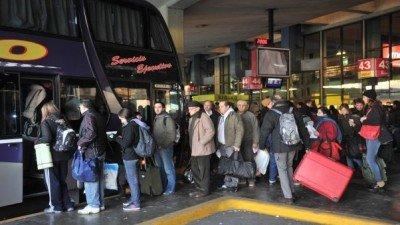 Terminal de Retiro, Buenos Aires.