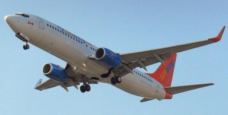 Las pasajeras viajaban en el vuelo 656 de Sunwing.