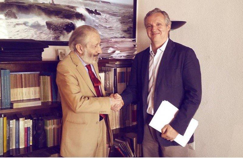 Jorge de Juan, Abogado de Ius Standing (izda.) y, Carlos Garrido de la Cierva, vicepresidente de FETAVE.