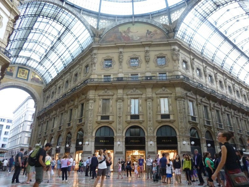 Turistas en Milán, el pasado mes de julio.
