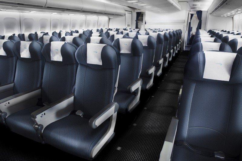 La nueva clase económica que se instalará en aviones B747 de British Airways.