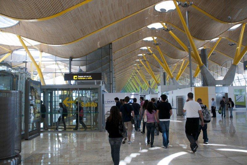 Los aeropuertos españoles elevan un 4,5% el número de pasajeros hasta agosto