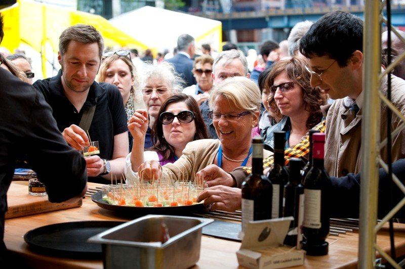 Imagen de archivo de un evento de promoción turística organizado por Turespaña en Londres.