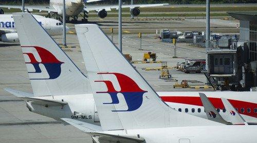 El avión de Malaysia Airlines realizaba la ruta Ámsterdam-Kuala Lumpur. #shu#